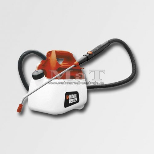 akku postřikovač Black and Decker