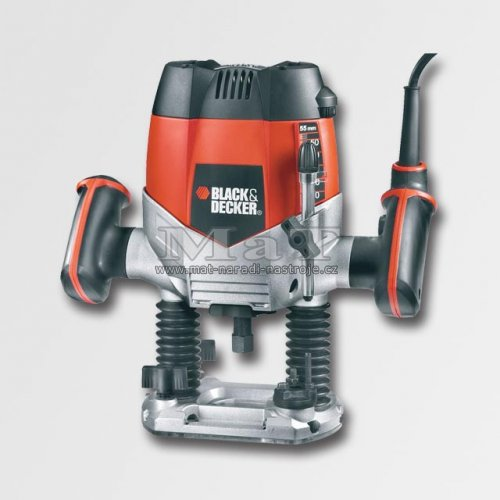 Vrchní frézka 1200W Decker Black and Decker